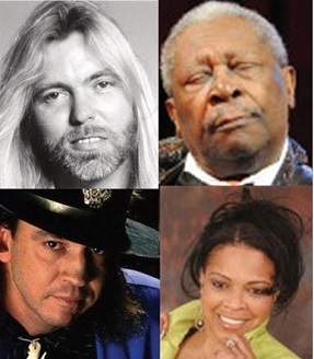 A Tribute To Gregg Allman BB King Stevie Ray Vaughan And Sheila Raye Charles